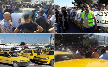 Taxis : Des non-grévistes agressés par leurs collègues en grève