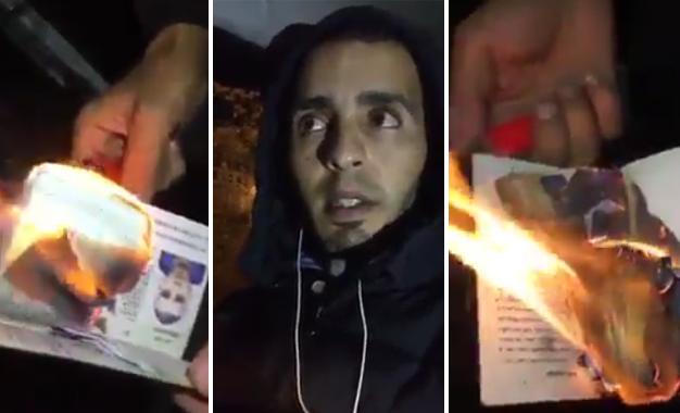 Un Jeune Vivant En France Brule Son Passeport Tunisien Kapitalis