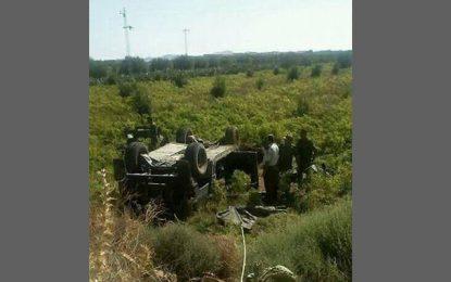 Hajeb El-Ayoun : Décès d'un soldat dans un accident de la route