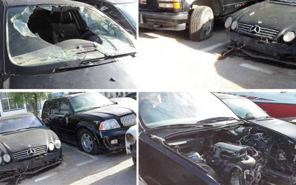 Tunisie : Les voitures de luxe du clan Ben Ali saccagées