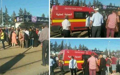 Tunis : Un adolescent se blesse en tombant du métro