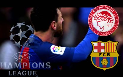 FC Barcelone-Olympiakos : UEFA en streaming