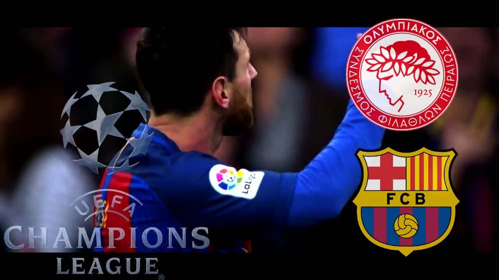 Barcelone - Olympiakos