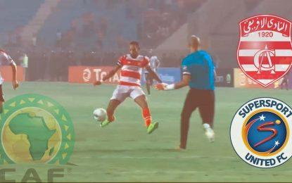 Club Africain – SuperSport : CAF en streaming (match retour)