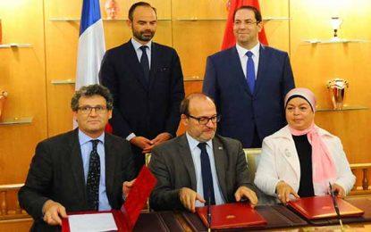 Tunisie-France : Conventions d'un montant de 92,3 M€