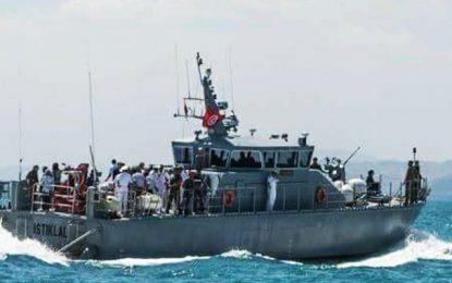 Kerkennah : Sauvetage de   12 migrants clandestins