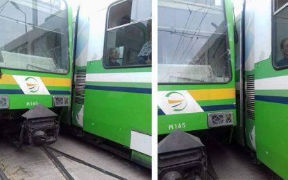Bab Saadoun : Aucun blessé dans le déraillement du métro n°3