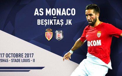 Monaco-Besiktas : UEFA en streaming
