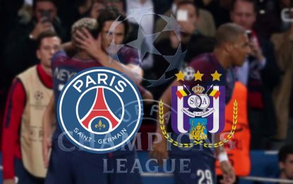 PSG-Anderlecht : UEFA en streaming