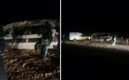 El-Jorf : Neuf policiers blessés dans un accident de la route