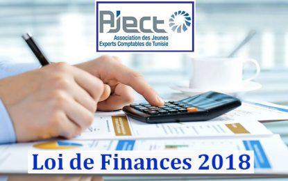 Projet de Loi de Finances 2018: Objections et propositions de l'Aject