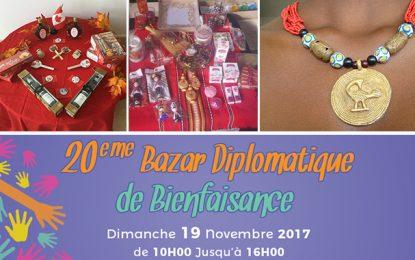 Bazar Diplomatique, dimanche, à la Foire du Kram