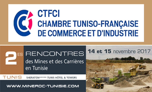 2e rencontres mines et carri res en tunisie kapitalis for Chambre de commerce en tunisie