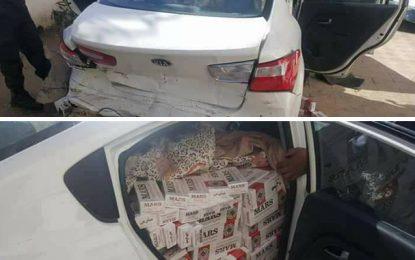 Médenine: Saisie de cigarettes tunisiennes contrefaites