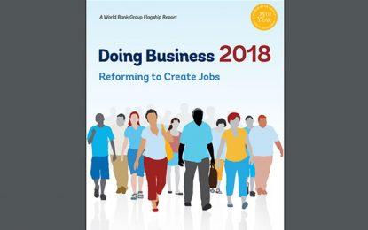 Doing Business 2018 : La Tunisie perd 11 places et se classe 88e