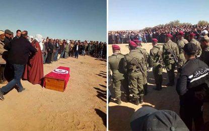 Gafsa : Funérailles du délégué de Matmata à Zannouch