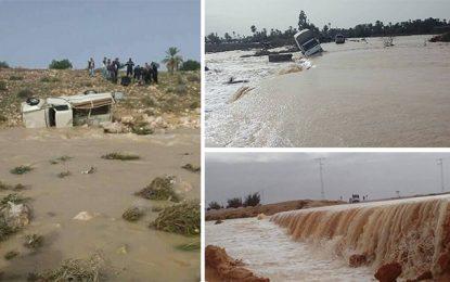 Inondations à Gabès : Cinq décès, 117 évacuations