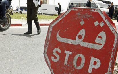 Kairouan : Un contrebandier en fuite percute 2 policiers