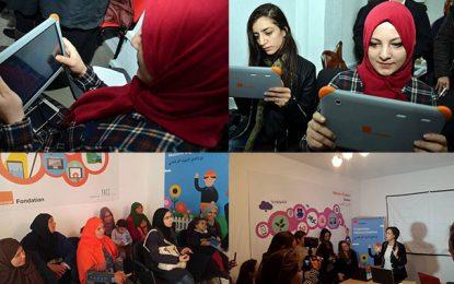 Les femmes de Takelsa se construisent dans leur Maison digitale