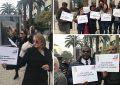 Manifestation à Tunis contre la traite des noirs en Libye