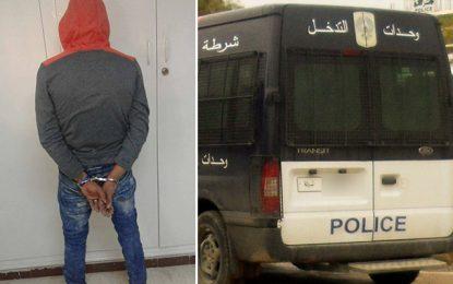 Arrestation d'un braqueur ayant semé la terreur à Mateur