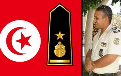 Gabès : Grade à titre posthume pour le capitaine Mehdi Haddad