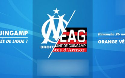 OM-Guingamp : Ligue1 en streaming