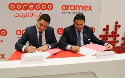 Ooredoo et Aramex pour impulser l'écosystème du e-commerce en Tunisie
