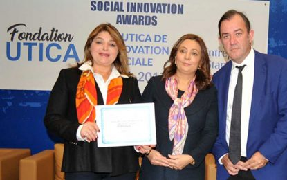 L'Utica décerne le Prix de l'Innovation Sociale à Orange Tunisie