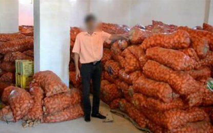 Mahdia : 341 tonnes de légumes stockés pour créer la pénurie !