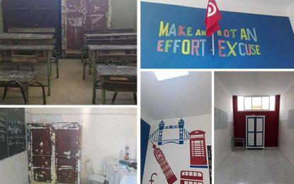 Bizerte : Une enseignante transforme un gourbi en salle de classe