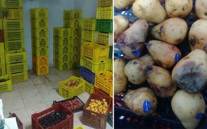 Sfax : Saisie de 2 tonnes de fruits pourris