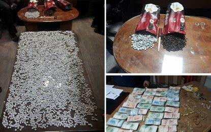 Un réseau de trafic d'ecstasy démantelé à Sousse