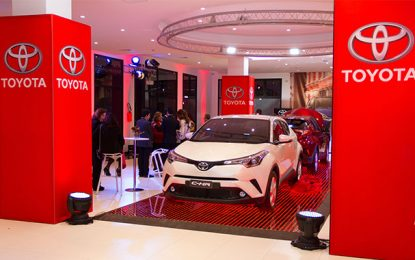 BSB-SA lance en Tunisie le crossover compact Toyota C-HR
