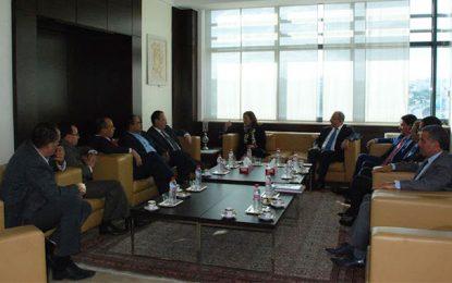 Mme Bouchamaoui reçoit une délégation de Nidaa Tounes