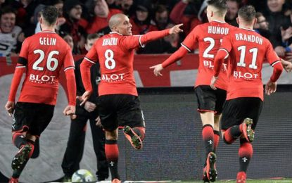 France-Ligue 1 : Wahbi Khazri signe un doublé