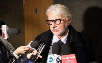 Le chef de la diplomatie polonaise à Tunis lundi
