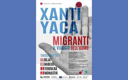 Tournée en Tunisie du groupe italien Xanti Yaca
