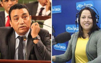 Le bloc de Nidaa porte plainte contre Mouna Bouazizi pour diffamation