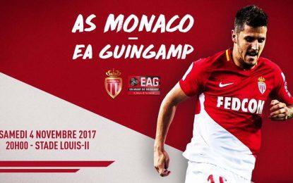 Monaco-Guingamp : Ligue 1 en streaming