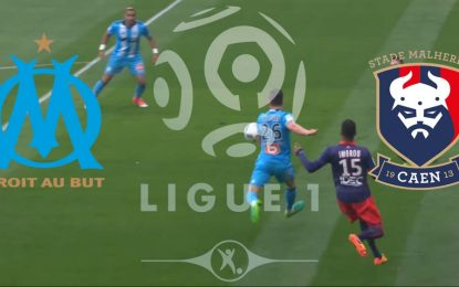 OM-Caen : Ligue 1 en streaming
