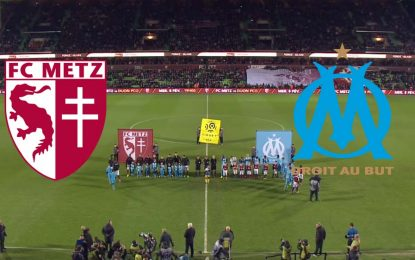 OM-Metz : Ligue1 en streaming