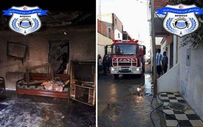 Sousse : Des inconnus ont mis le feu au domicile d'un policier