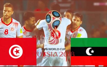 Tunisie-Libye en streaming : Qualifications Coupe du monde 2018