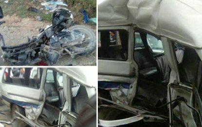 Nabeul : 4 morts et 9 blessés dans un accident