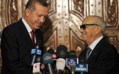 Caïd Essebsi reçoit Erdogan les 26 et 27 décembre 2017
