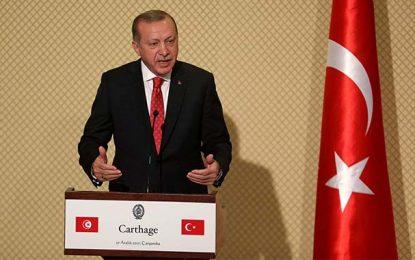 En visite à Tunis : Erdogan qualifie El-Assad de terroriste