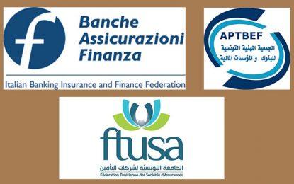 Convention de coopération entre banquiers et assureurs tunisiens et italiens