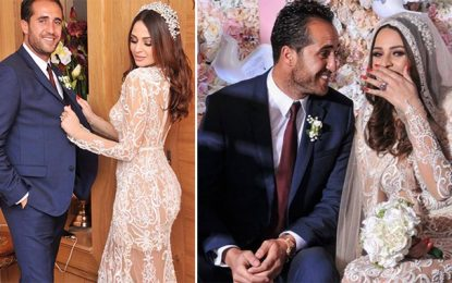 Football : Hamdi Kasraoui célèbre ses fiançailles