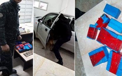 Trafic de drogue : Arrestation de 2 Algériens au Kef